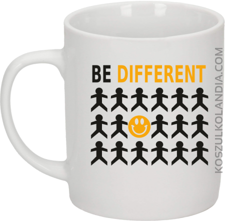 BE DIFFERENT - Kubek ceramiczny