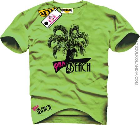 PALM BEACH Green Tshirt
