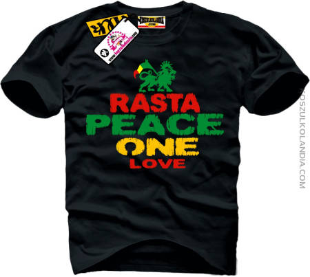 Rasta Peace One Love LION