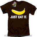 JUST EAT IT Banana - Koszulka męska