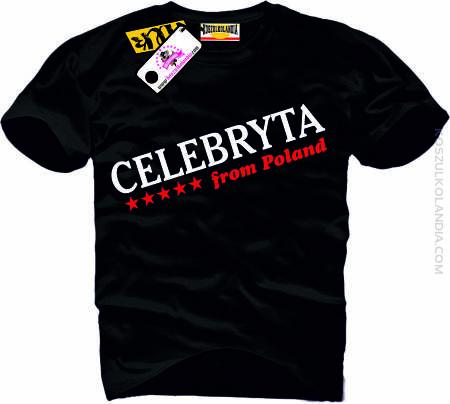 CELEBRYTA - koszulka męska