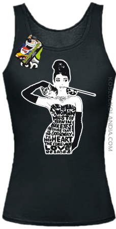 Audrey Hepburn RETRO-ART - Top damski
