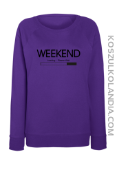 WEEKEND Loading Please Wait - bluza damska STANDARD 43