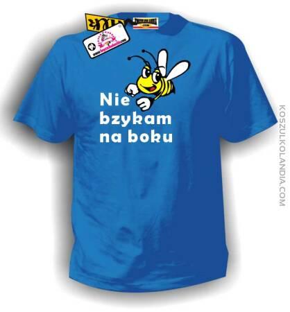 Nie bzykam na boku - koszulka męska Nr KODIA00020