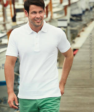 KOSZULKA Fruit of the Loom HEAVY POLO - 63-000-0