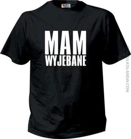 Nowoczesna architektura Mam Wyjebane - Kultowy Tshirt - Koszulki z nadrukiem ZQ64