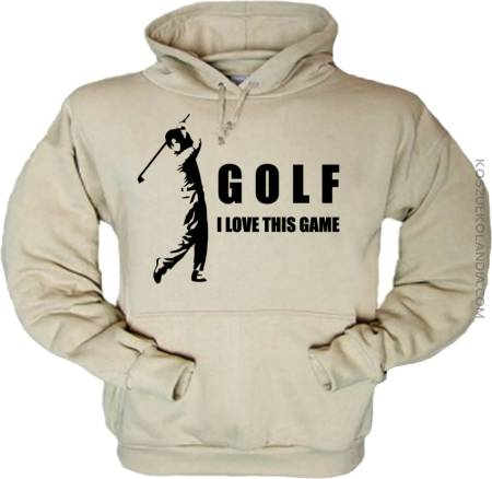 Golf I love this game - Bluza