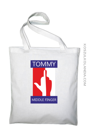 Tommy Middle Finger - Torba EKO