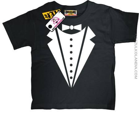 Frak dla małego elegancika Koszulka dziecięca