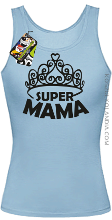 Super mama korona miss - Top damski
