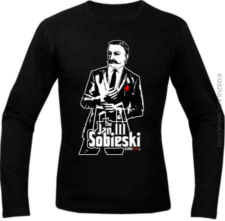 Jan III 3 Sobieski ala GodFather - Longsleeve męski