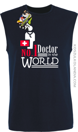 No1 Doctor in the world - Bezrękawnik męski