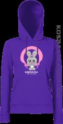 Księżniczka jest tylko jedna Jumping Bunny bluza damska z kapturem