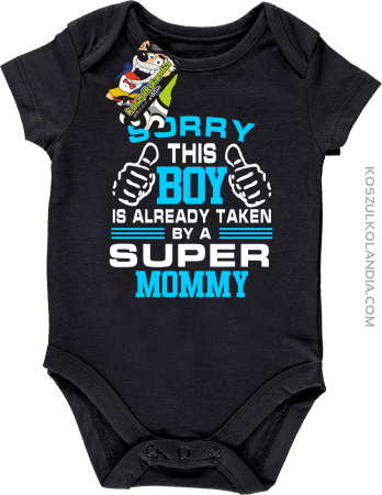 Sorry this boy is already taken by a super mommy - Body dziecięce