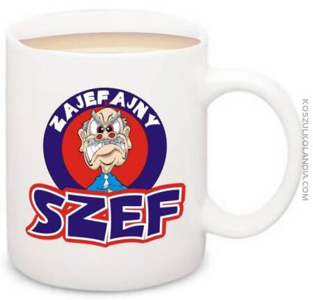Zajefajny SZEF - kubek na kawe