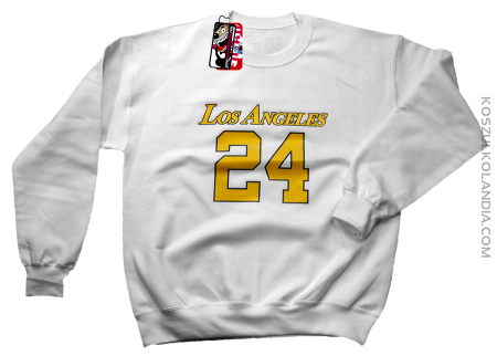 LOS ANGELES 24 Basketball - bluza standard