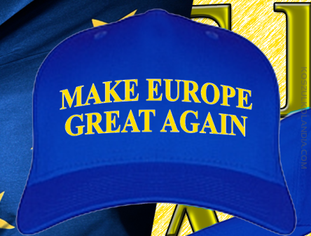 Make Europe Great Again - Czapka 5-panelowa 1