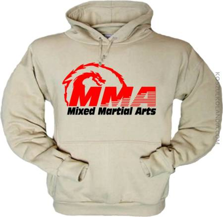 MMA Mixed Mantial Arts Smok - Bluzy