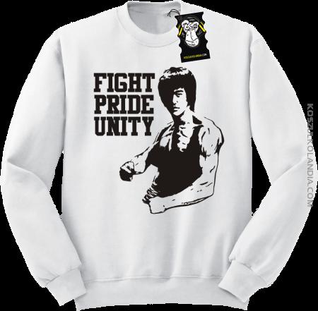 Fight Pride Unity BRUCE LEE - Bluza standard z nadrukiem