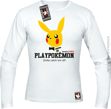 Play Pokemon - Longsleeve męski