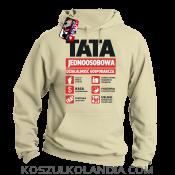 TATA Firma - Jednoosobowa działalność gospodarcza - bluza z kapturem męska