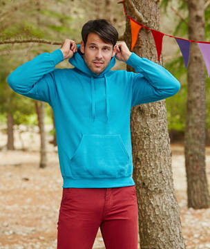 BLUZA Fruit of the Loom CLASSIC BLUZA Z KAPTUREM - HOODED SWEAT - 62-208-0