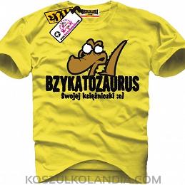 BZYKATOZAURUS swojej księżniczki - koszulka męska Nr KODIA00098