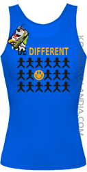 BE DIFFERENT - Top damski niebieska