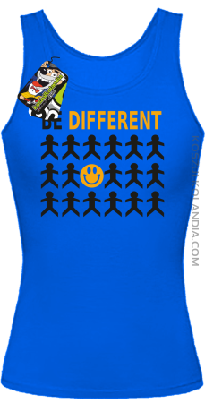 BE DIFFERENT - Top damski