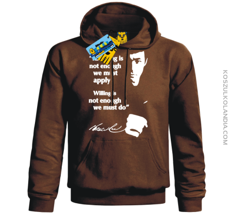 Bruce Lee Knowing - bluza męska
