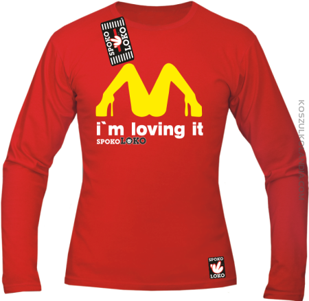 MCky I`m Loving It - Longsleeve męski