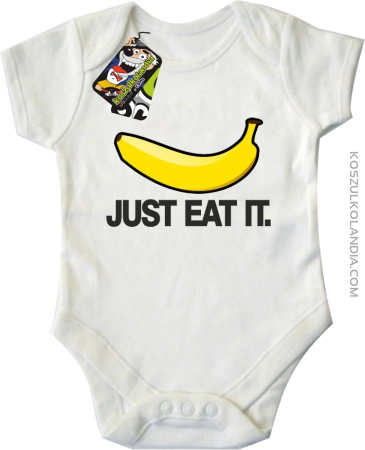 JUST EAT IT Banana - Body dziecięce