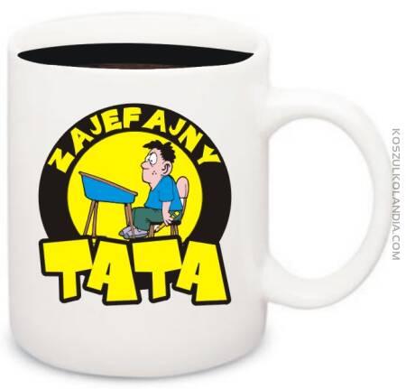 Zajefajny TATA - kubek na kawe
