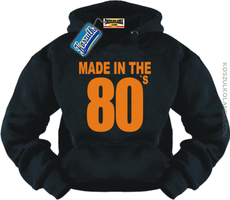 MADE IN 80`s - bluza