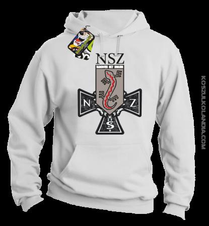 NSZ Narodowe Siły Zbrojne - Bluza męska z kapturem