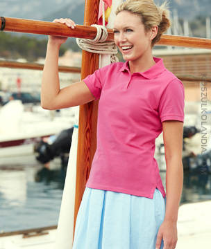 KOSZULKA damska Fruit of the Loom LADY-FIT POLO - 63-560-0