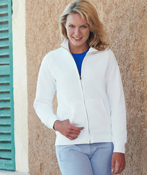 Fruit of the Loom BLUZA PREMIUM LADY-FIT SWEAT JACKET - 62-116-0
