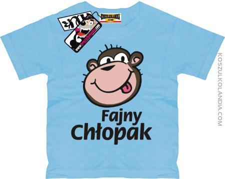 Fajny chłopak - superancka koszulka dziecięca Nr KODIA00221dz
