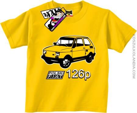 Polski Fiat 126p - Koszulka Dziecięca