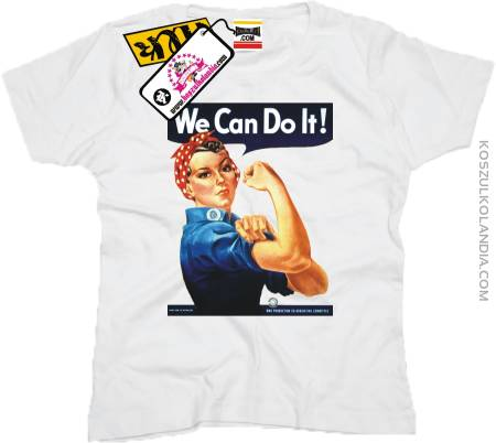 We Can Do It - Vintage Woman