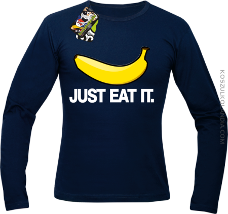 JUST EAT IT Banana - Longsleeve męski