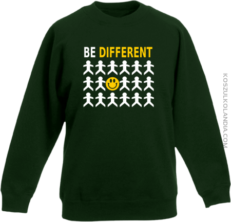 BE DIFFERENT - Bluza dziecięca bez kaptura