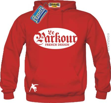 Le Parkour French Design Bluza