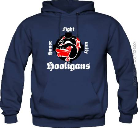 Buldog Honor Fight Unity Hooligans - Bluza
