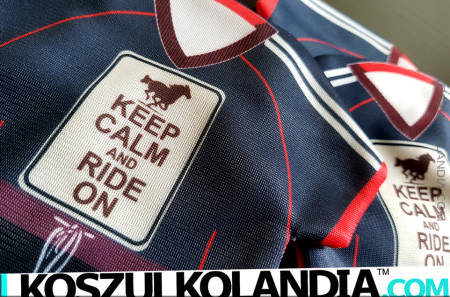 Keep Calm and Ride On - MINI KOSZULKA
