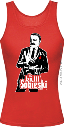 Jan III 3 Sobieski ala GodFather - Top damski