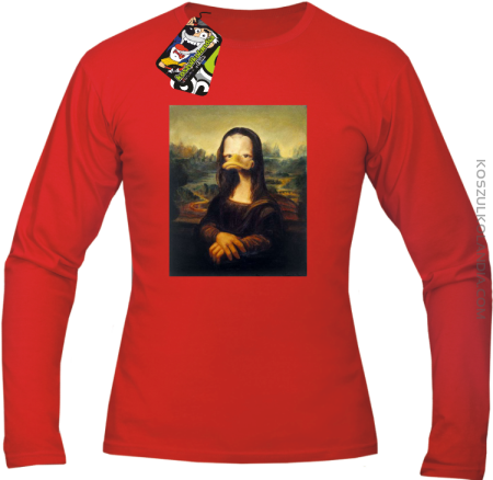 MonaLisa Mother Ducker - Longsleeve męski