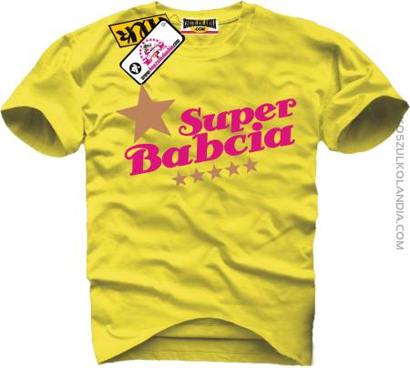Super Babcia Gold STAR