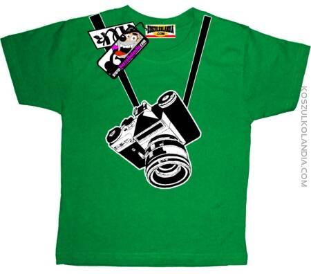 Aparat foto - Koszulka Dziecięca