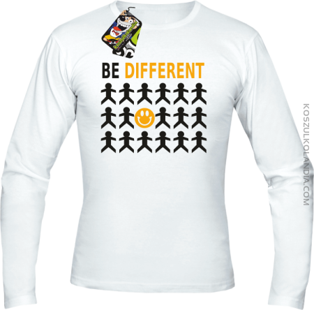 BE DIFFERENT - Longsleeve męski